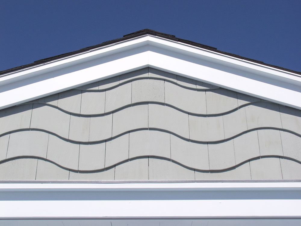 Shingle detail