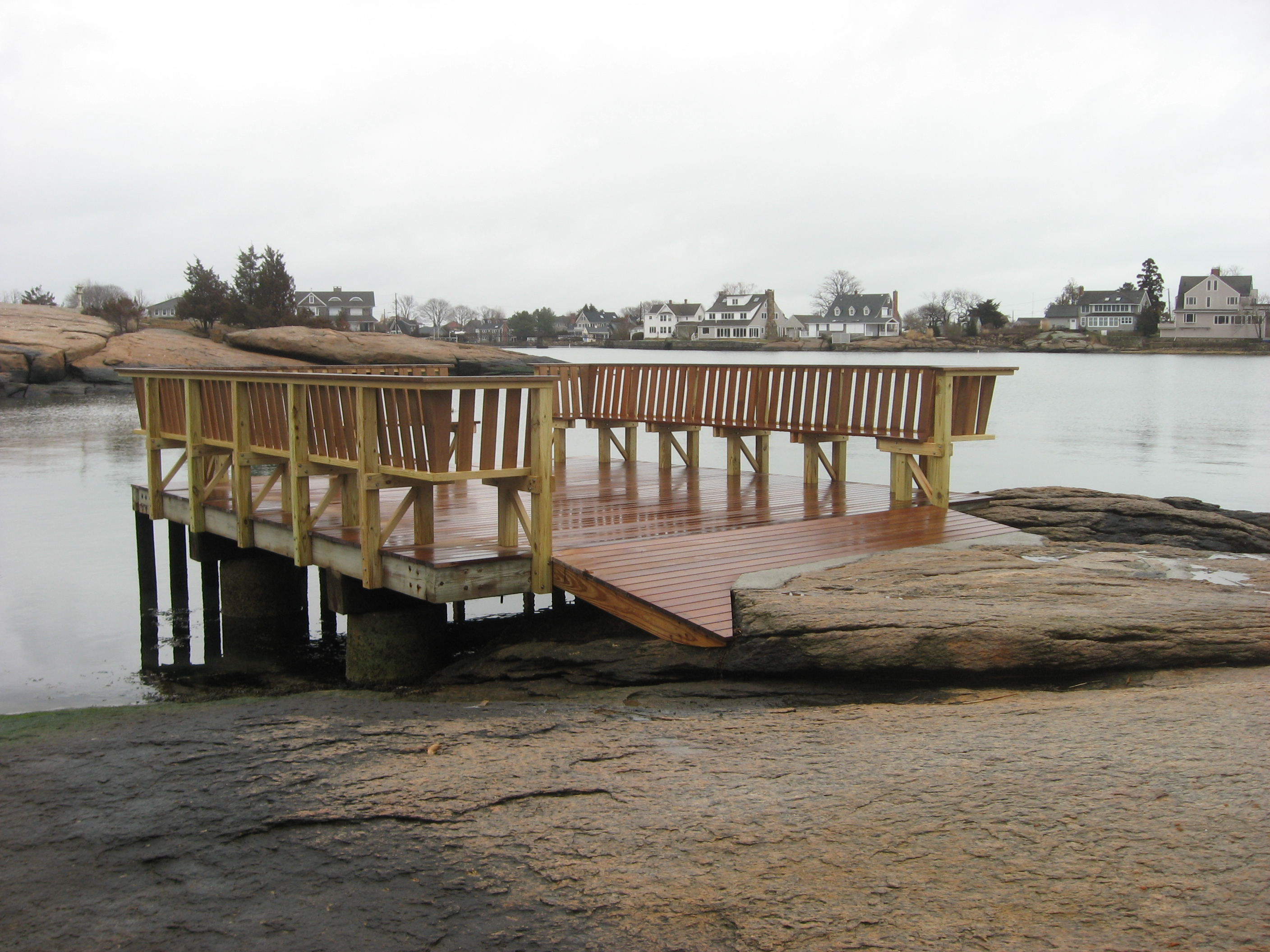 New dock seating