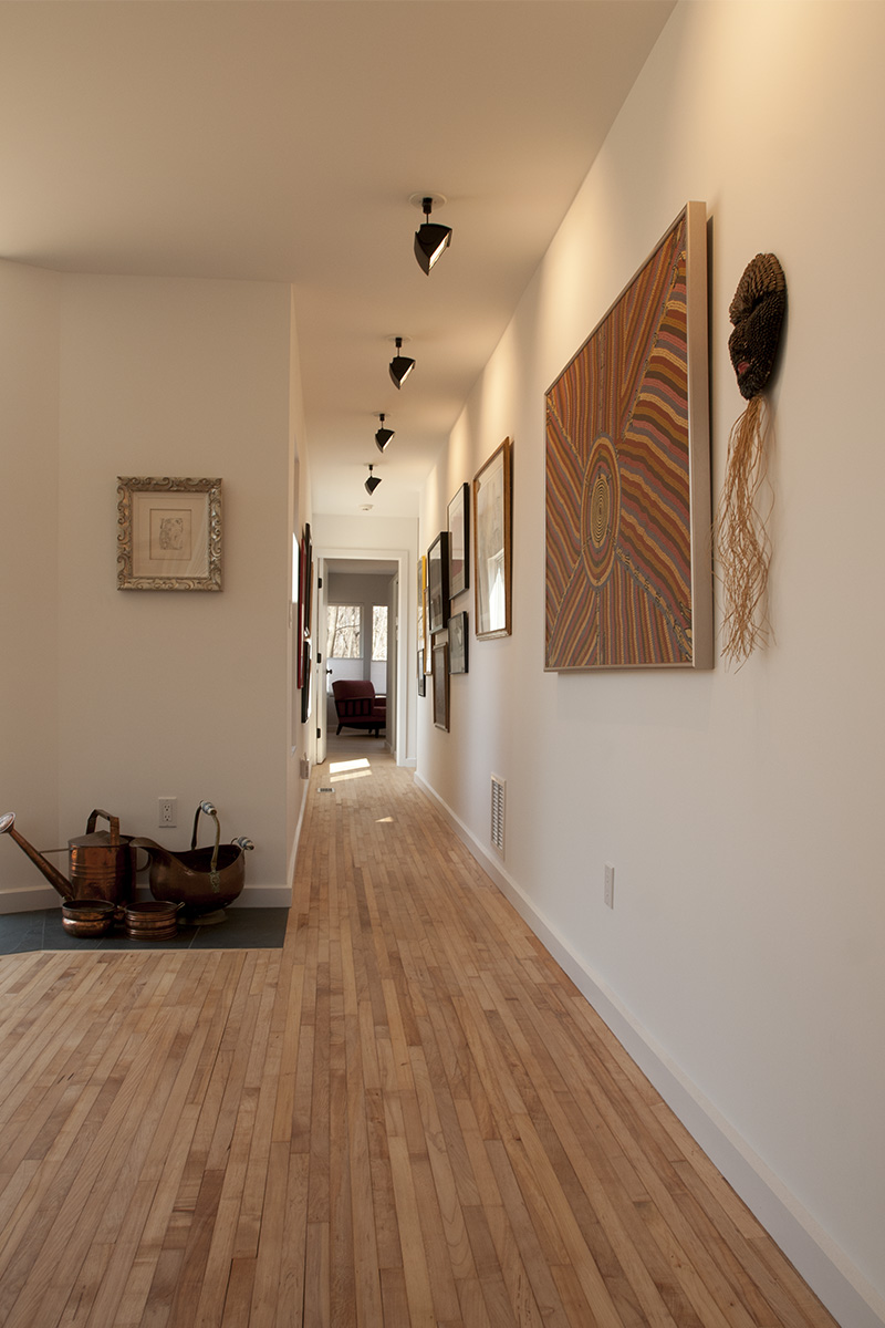 Bedroom hall/gallery from living room